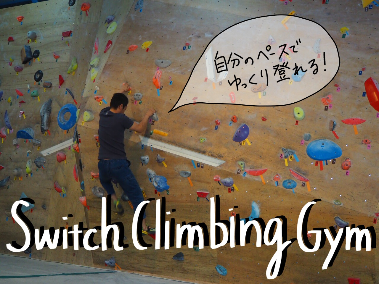 Switch climbing gym